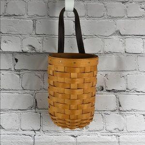 Longaberger 2003 round wall basket